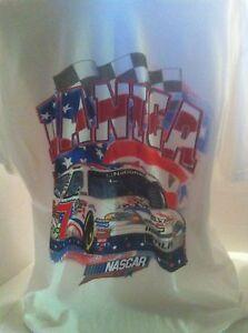 DANICA PATRICK SHIRT NASCAR UNITES RED-WHITE-BLUE