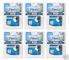 Brother TZ121 PTouch Label Tape P-Touch TZ-121 (6) PACK