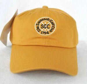 *THE SAVANNAH GOLF CLUB - OLDEST IN AMERICA* HAT CAP *IMPERIAL HEADWEAR* sample