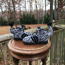 BABY SIZE 7K Adidas Jeremy Scott ZEBRA Black White Fur Tails G95762 Authentic