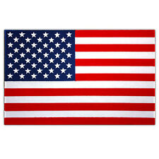 HUGE USA FLAG US EMBROIDERED PATCH UNITED STATES AMERICA SIZE 12""