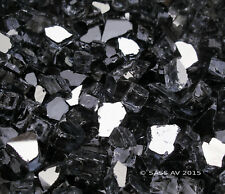 "10 Lbs ~1/2"" Gray Reflective Fireglass Fireplace Fire pit Glass Rocks"