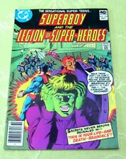 SUPERBOY and the Legion of Super-Heroes Comic #256, Oct 1979 (VF) Marvel