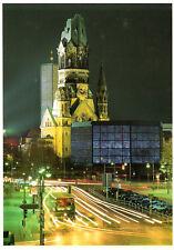 Berlin-Charlottenburg  - Blick zur Kaiser-Wilhelm-Gedächtniskirche am Abend