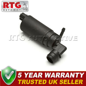 Windscreen Washer Pump Front OR Rear Single Outlet For Honda Land Rover Toyota