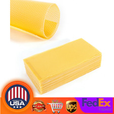 Honeycomb Foundation 195*415mm Beehive Wax Frames Waxing Beekeeping 30 Pcs/Pack