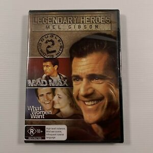 Mad Max / What Women Want (DVD 2008 2disc) 1979 film Mel Gibson Reg 4 new sealed
