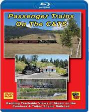 Passenger Trains on the Cumbres & Toltec Scenic Railway BLU-RAY K-36 Chama Pass
