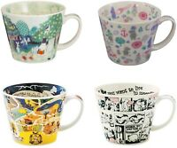 Yamaka Moomin Valley Newborn Soup Mug Cup Select Pattern From Japan