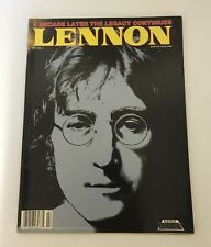 John Lennon Magazine - Lennon - A Decade Later The Legacy Continues - Fall 1990