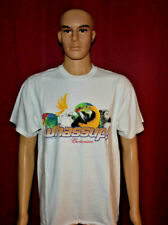 Vintage Budweiser 90's WHAASUP! T SHIRT SIZE L PARROT & Cockatoo RARE