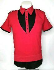 Rusty Neal Herren Poloshirt S M L Gelb Rot Schwarz Kurzarm Hemd Muskel T-Shirt