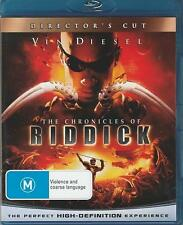 Chronicles Of Riddick (Blu-ray, 2009) - VIN DIESEL - DIRECTOR'S CUT