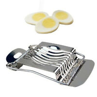 Stainless Steel Boiled Egg Slicer Cutter Chopper New