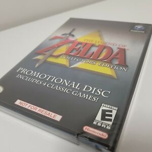 Legend of Zelda Collector's Edition Gamecube Brand New Sealed Near Mint