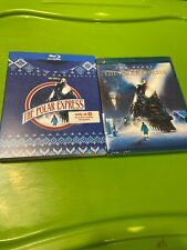 New The Polar Express Blu Ray + Target Exclusive Ugly Sweater Holiday Slipcover