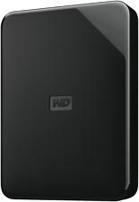 NEW Western Digital WDBJRT0040BBK-WESN 4TB Elements SE Portable HDD Black