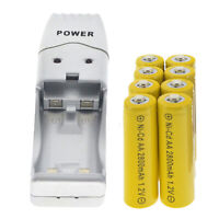 16Slots Smart Battery Charger LCD Display for AA//AAA NiCd NiMh Rechargeable H3M7
