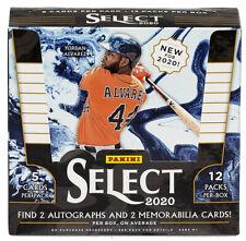Atlanta Braves 2020 Panini Select  6 boxes 1/2 case break # 3