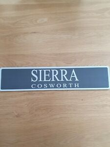 Ford Sierra Sapphire RS Cosworth Show Plate