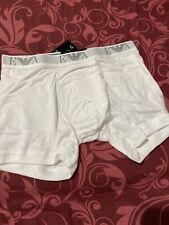 NWT Emporio Armani. Sz S. Men.Boxer Brief, Pure Cotton White
