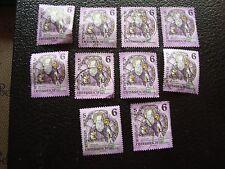 AUTRICHE - timbre yvert et tellier n° 1937 x10 obl (A01) stamp austria (Z)