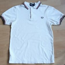 Fred Perry Slim Fit Twin Tipped Polo Shirt, XS