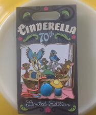 Exclusive Limited Edition 4000 Walt Disneys Cinderella 70th Anniversary Mice Pin