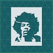 Jimi Hendrix Stencil 14x11 11x8.5 5x4 Reusable Mylar