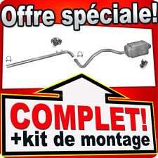 Renault Megane / Scenic 1.5 dCi dés 2002 Ligne pot D'échappement Silencieux B57
