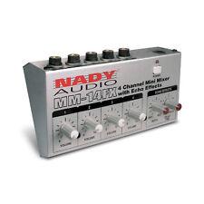 Nady MM-14FX 4-Channel Mini Mixer w/ Echo (MM-141)