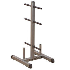 Body-Solid Standard Weight Disc Tree & Bar/ Barbell Rack Storage Holder