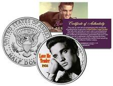 ELVIS PRESLEY *Love Me Tender* MOVIE Colorized JFK Half Dollar US Coin LICENSED