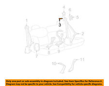 GM OEM Front Seat Belt-Belt & Retractor Bolt 15667996