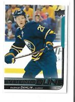 2018-19 Upperdeck Series 1 Young Guns Rasmus Dahlin #201 Buffalo sabres RC