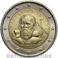 2 EURO COMMEMORATIVO ITALIA 2014 - 450º ann. della nascita di Galileo Galilei