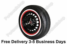 "Red&Whitewall Portawall 14"" Tyre insert Trim Set Hot Rod Rat Rod Car Truck.Free"