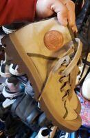 Palladium Mens Pampa Hi Canvas Shoes Casual Walking Ankle Boots Size 10.5 Khaki