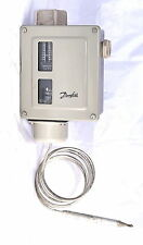 Danfoss RT14L Thermostat Temperature Switch -5C/30C, Diff 1.5/5.0 suit cool room