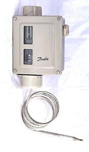 Danfoss RT14L Thermostat Temperature Switch -5C/30C, Diff 1.5/5.0 suit cool room