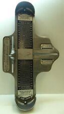 VINTAGE METAL SHOE SHOP FOOT SIZING DEVICE STORE ASSISTANTS FITTING APPARATUS