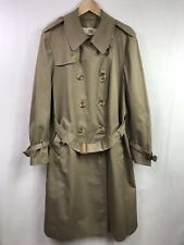 Aquascutum Of London Women's Belted Trench Coat Beige Size 42R