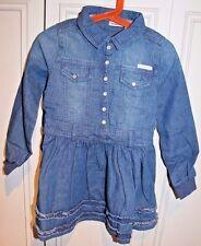New Calvin Klein Jeans Dress Robe for little girls size 5
