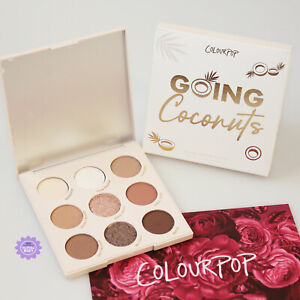 ColourPop Going Coconuts Eyeshadow Palette *100% GENUINE* Coconut Brand New