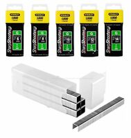 TRA704T Heavy-Duty Staples 6 mm Pack 1000 STA1TRA704T