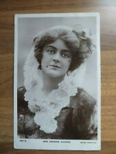Miss Adrienne Augarde Rotary Photo Postcard 1697Q posted Walsall 1907
