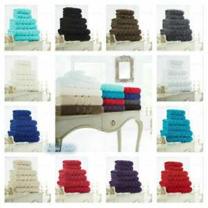 ```````Luxury 💯% Egyptia cotton Zero Twist super soft 600 GSM towels WIDE RANGE