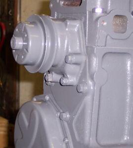1955-1962 CHEVROLET 235 261 WATER PUMP ADAPTER (stainless steel)