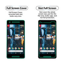 3 Pack FULL SCREEN Face Curved TPU Screen Protector Cover For Google Pixel 3 XL