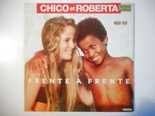 """MAXI 12"""" POP 80s  ▒ CHICO & ROBERTA : FRENTE A FRENTE ( 6'10 )"""